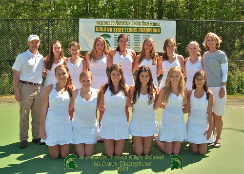 MBHS Girls Tennis Team