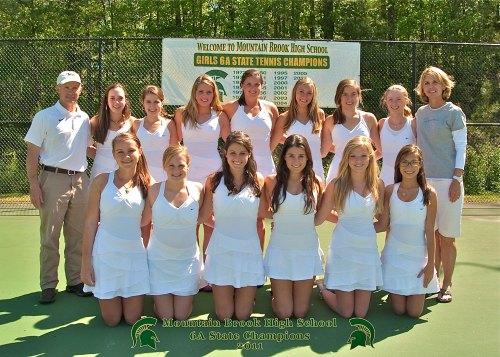 MBHS Girls Tennis Team